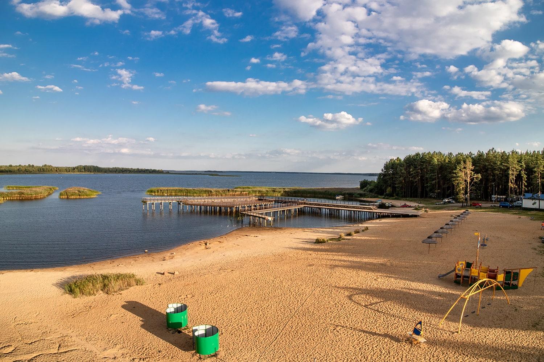 plaża Zalew Siemianówka